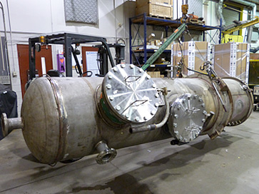 ASME Pressure vessel alteration and refurbishment