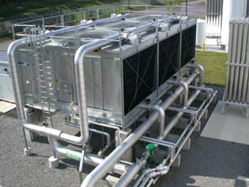 Superconductor Manufacturing Cooling Tower