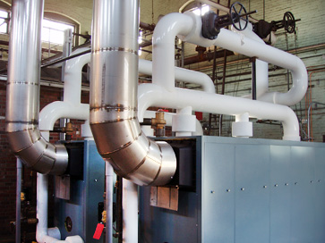 Low Pressure Steam Boiler Installation