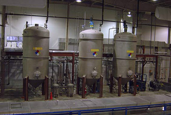 A Solvent Processing Area