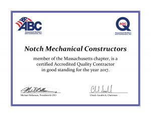 Notch Mechanical Constructors - Massachusetts Chapter